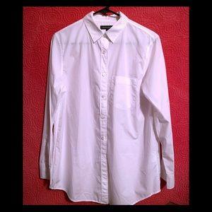 Banana Republic - white button up oxford shirt